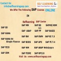 Online SAP Courses Videos are Available in self Learning Center ?